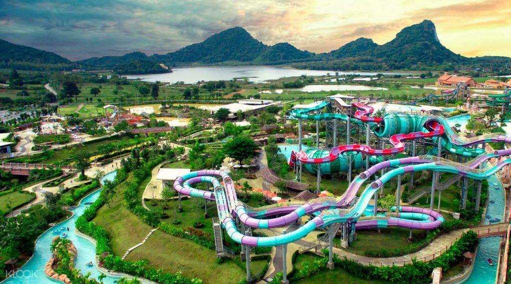 สวนน้ำรามายณะ ที่เที่ยวใกล้กรุงเทพฯ