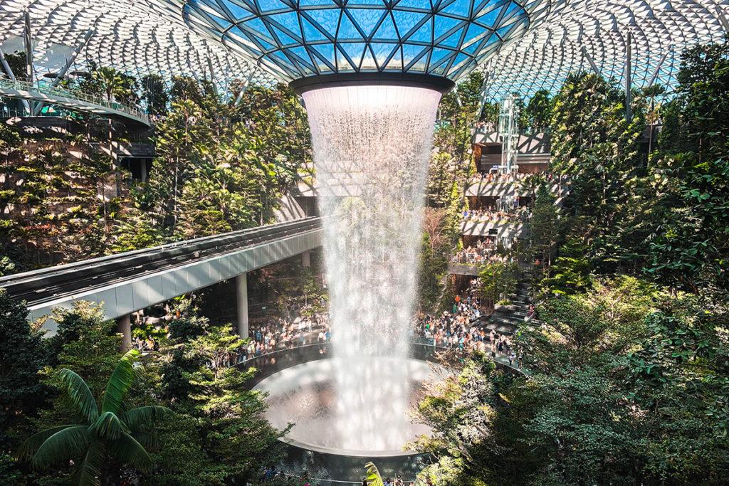 สุดยอดสนามบิน สนามบินชางงี สิงคโปร์