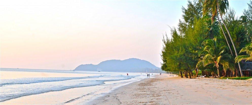 หาดเจ้าหลาว ที่ท่องเที่ยวแนวทะล