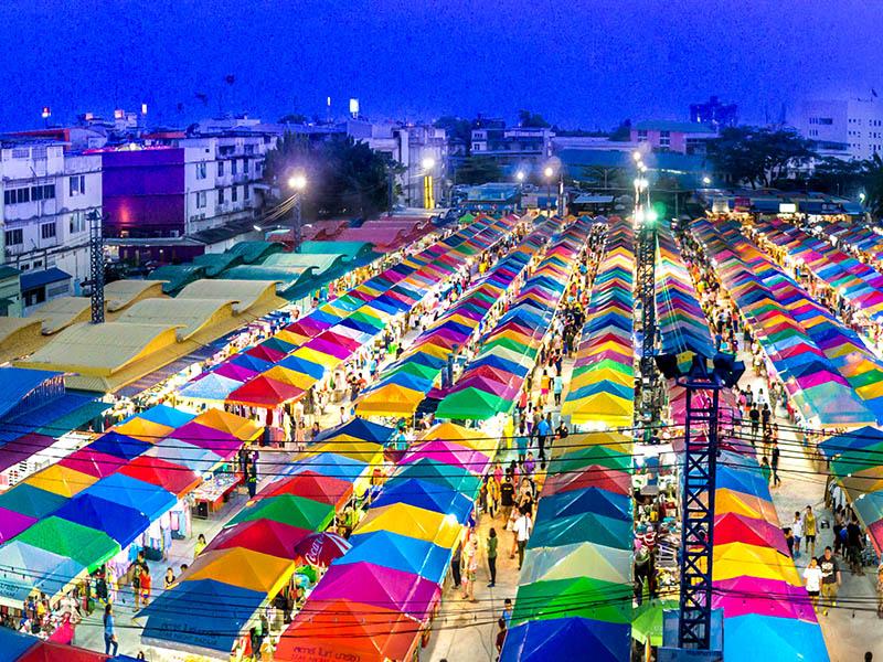 ตลาดใหญ่กลางเมืองระยอง