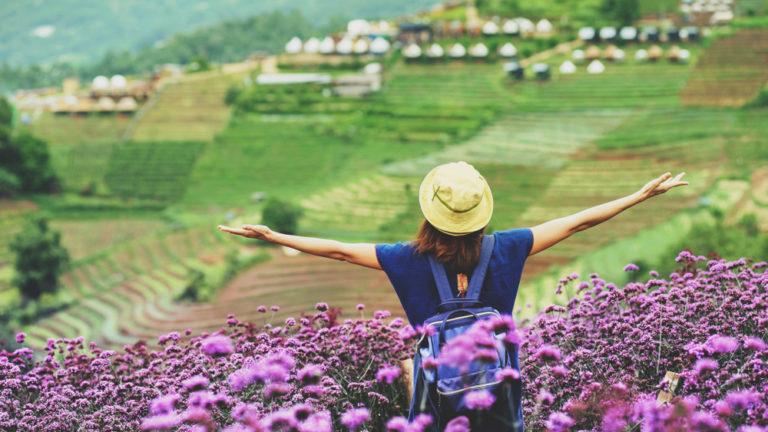 แนะนำสถานที่ชมวิวภูเขา เที่ยวสวนดอกไม้ ถ่ายรูปสวยๆ 2020