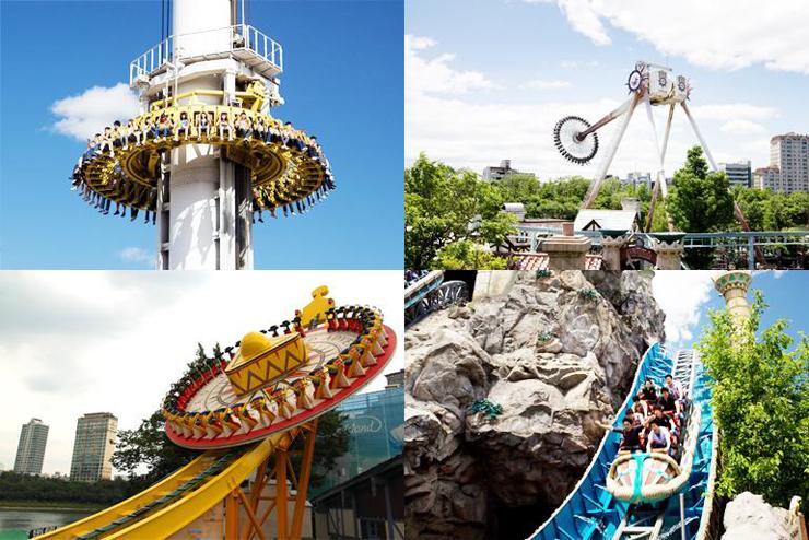 Lotte World สวนสนุกในร่ม Adventure ในกรุงโซลของประเทศเกาหลีใต้