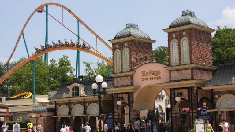 SixFlags Over Georgia สวนสนุกของแท้จากบริษัทในแอตแลนต้า
