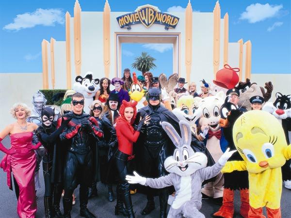 Warner Bros. Movie World ที่มีกระแสความนิยมของภาพยนตร์ออสเตรเลียมาแรงอย่างมาก
